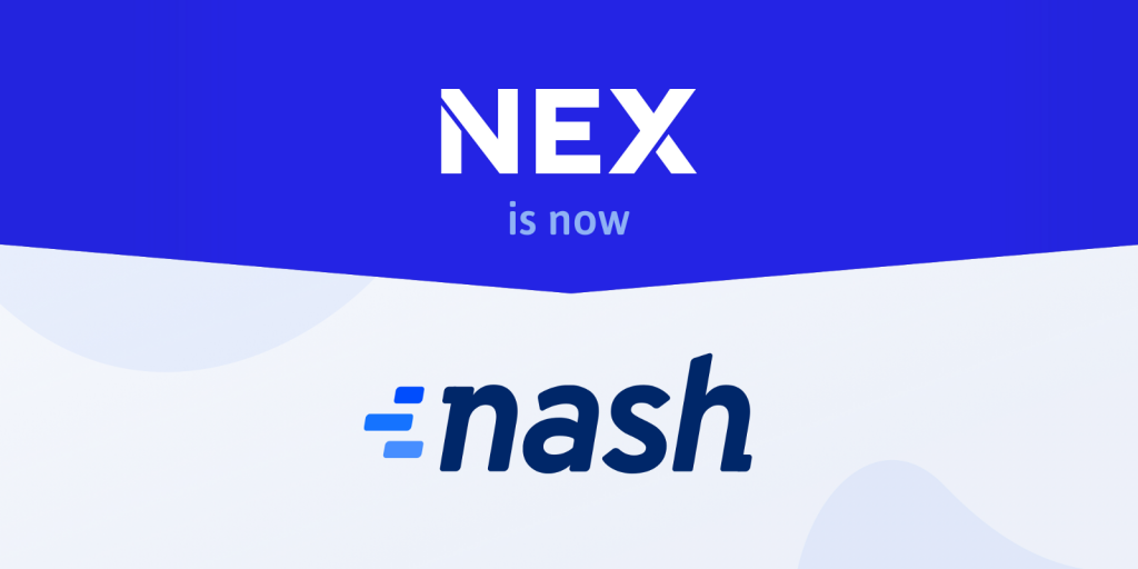 Nash Neon Exchange Nex