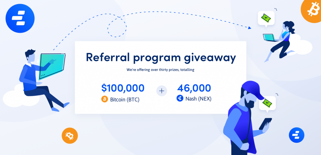 Referal Contest for former Neonexchange Now Nash.io